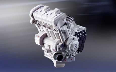 Engine PaperCraft Yamaha YZF-R1M 02 Pertamax7.com