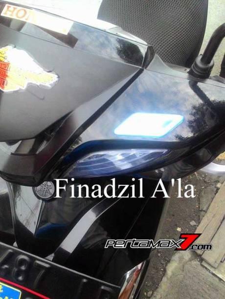 Gagal Tukar Tambah, Yamaha Xeon ini pakai Logo Honda Vario 02 Pertamax7.com