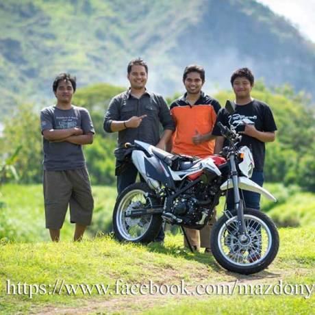 Gaya Bos Komputer beli Kawasaki D-Tracker Di TulungAgung, Sumringah Tenan 01 Pertamax7.com