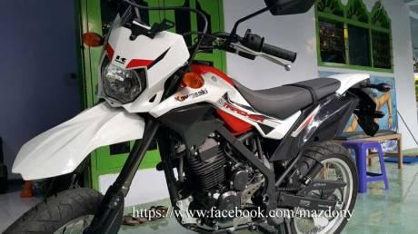 Gaya Bos Komputer beli Kawasaki D-Tracker Di TulungAgung, Sumringah Tenan 03 Pertamax7.com