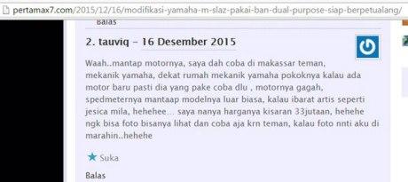 harga-yamaha-M-slaz-XABRE-SABRE-tembus-Rp,33-juta-di-Makassar-pertamax7.com-