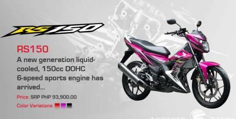 Honda-Sonic-150R-buatan-Indonesia-sudah-sampai-Filipina-Namanya-RS150-Harga-Rp.27-jutaan-pertamax7.com