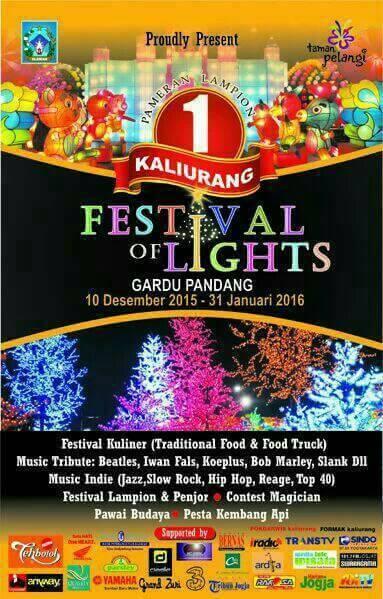 Indahnya Festival Festival Of Light Kaliurang Jogja, Boleh Di Injak Kah Awas Kesetrum 01 Pertamax7.com 1
