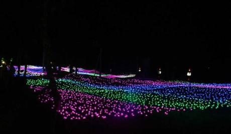 Indahnya Festival Festival Of Light Kaliurang Jogja, Boleh Di Injak Kah Awas Kesetrum 05 Pertamax7.com