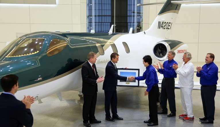 Ini dia Pemilik HondaJET Pertama di dunia pertamax7.com