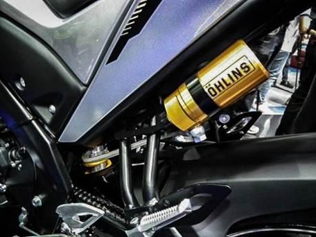 Intip Aksesoris resmi Yamaha M-slaz MT15 di Thailand, Shock Ohlins nya Menggoda  pertamax7.com