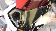 Kala Honda SFA 150 Concept Di Pamerkan Di Hongkong Pakai Spakbor Dan Spion Di Ruang Terbuka Nampak Keren 06 Pertamax7.com