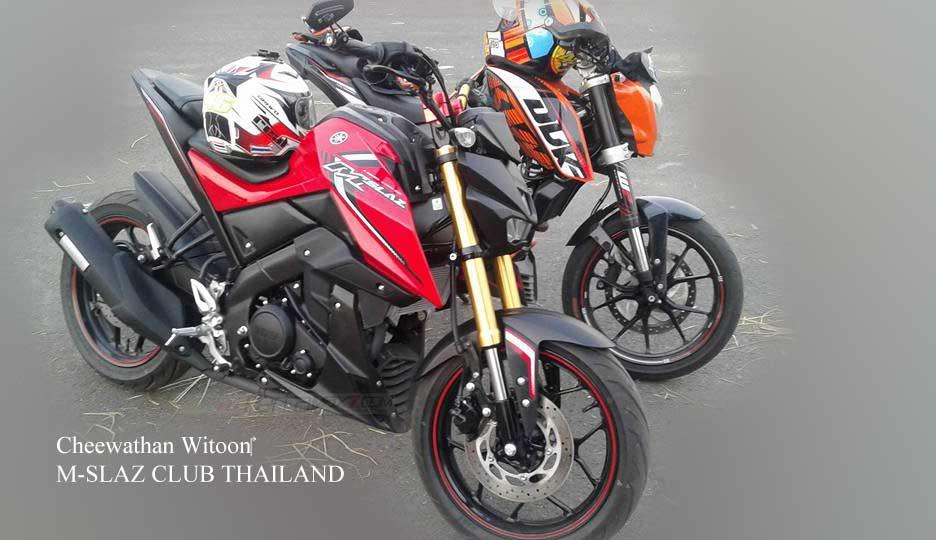 Kala Yamaha M-Slaz jejer KTM Duke 200, USD nya Sedap  pertaamx7.com 1