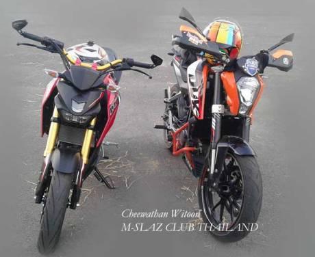 Kala Yamaha M-Slaz jejer KTM Duke 200, USD nya Sedap  pertaamx7.com .jpg