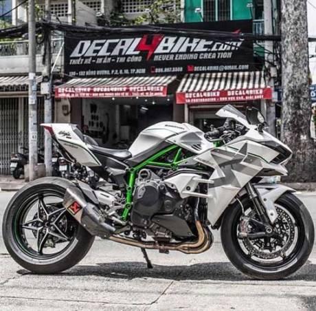 Kawasaki Ninja H2 Livery Trick Star Racing 15 Pertamax7.com