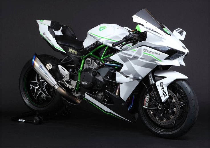 Kawasaki Ninja H2R Livery Trick Star Racing 01 Pertamax7.com