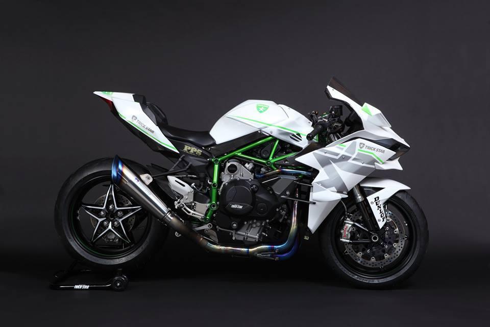 Kawasaki Ninja H2R Livery Trick Star Racing 04 Pertamax7.com
