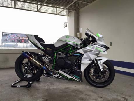 Kawasaki Ninja H2R Livery Trick Star Racing 05 Pertamax7.com