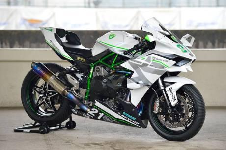 Kawasaki Ninja H2R Livery Trick Star Racing 06 Pertamax7.com