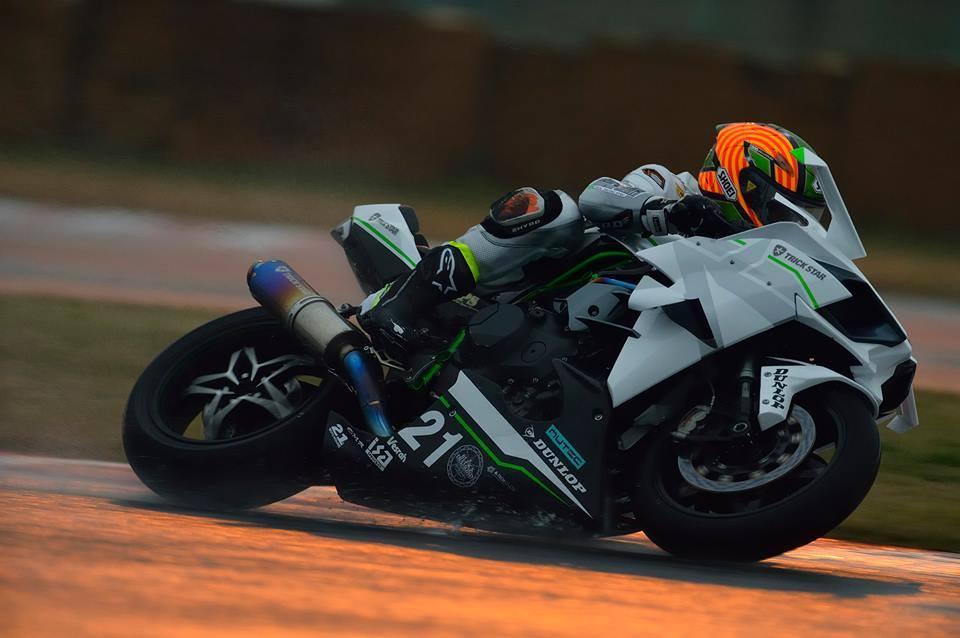 Kawasaki Ninja H2R Livery Trick Star Racing 07 Pertamax7.com