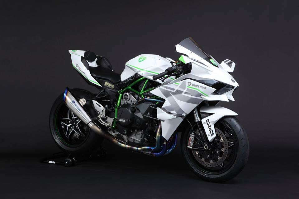 Kawasaki Ninja H2R Livery Trick Star Racing 08 Pertamax7.com