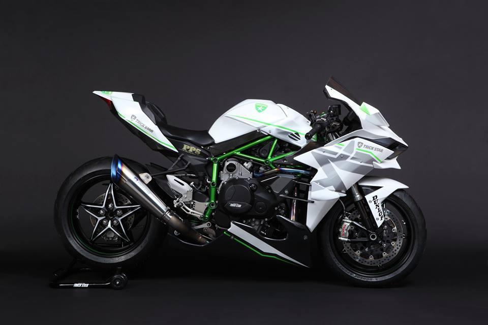 Kawasaki Ninja H2R Livery Trick Star Racing 09 Pertamax7.com