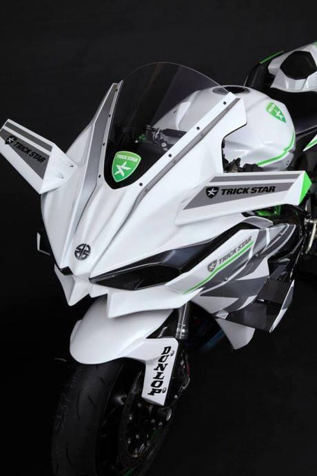 Kawasaki Ninja H2R Livery Trick Star Racing 11 Pertamax7.com