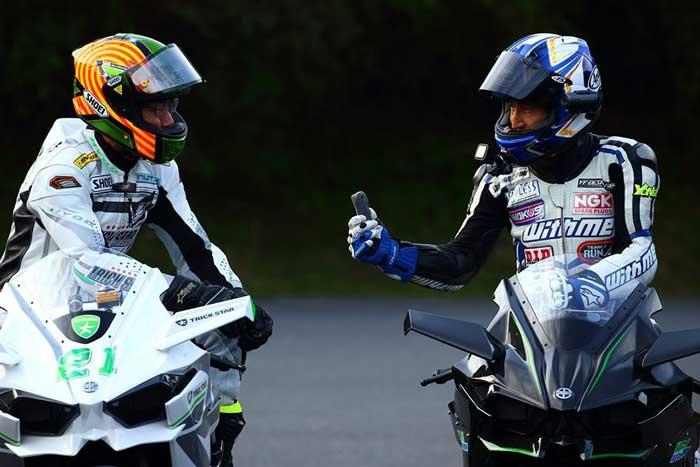 Kawasaki Ninja H2R Livery Trick Star Racing 14 Pertamax7.com