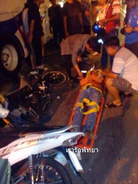 Kecelakaan Pertama Yamaha M-slaz di Thailand Ini memilukan 02 Pertamax7.com