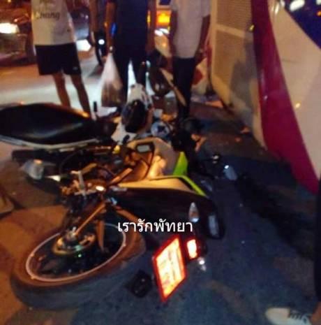 Kecelakaan Pertama Yamaha M-slaz di Thailand Ini memilukan 03 Pertamax7.com