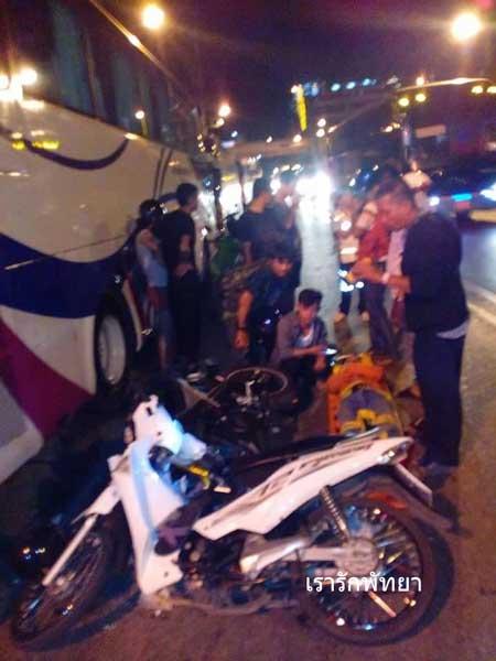 Kecelakaan Pertama Yamaha M-slaz di Thailand Ini memilukan 04 Pertamax7.com