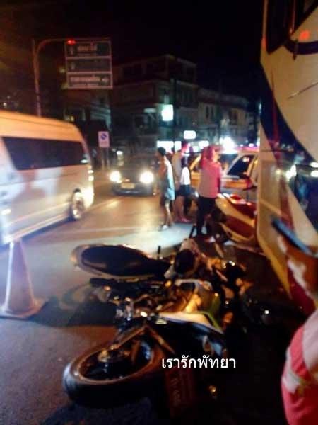 Kecelakaan Pertama Yamaha M-slaz di Thailand Ini memilukan 05 Pertamax7.com
