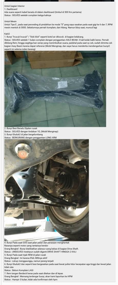 Keluhan Konsumen Honda HRV ini lagi ramai di Kaskus, moga cepat beres 06 Pertamax7.com