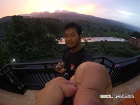 Meriahnya Acara Ulang tahun Jatimotoblog di Wisata Air Panas Pacet Mojokerto, Asem di Kadalin 02 Pertamax7.com