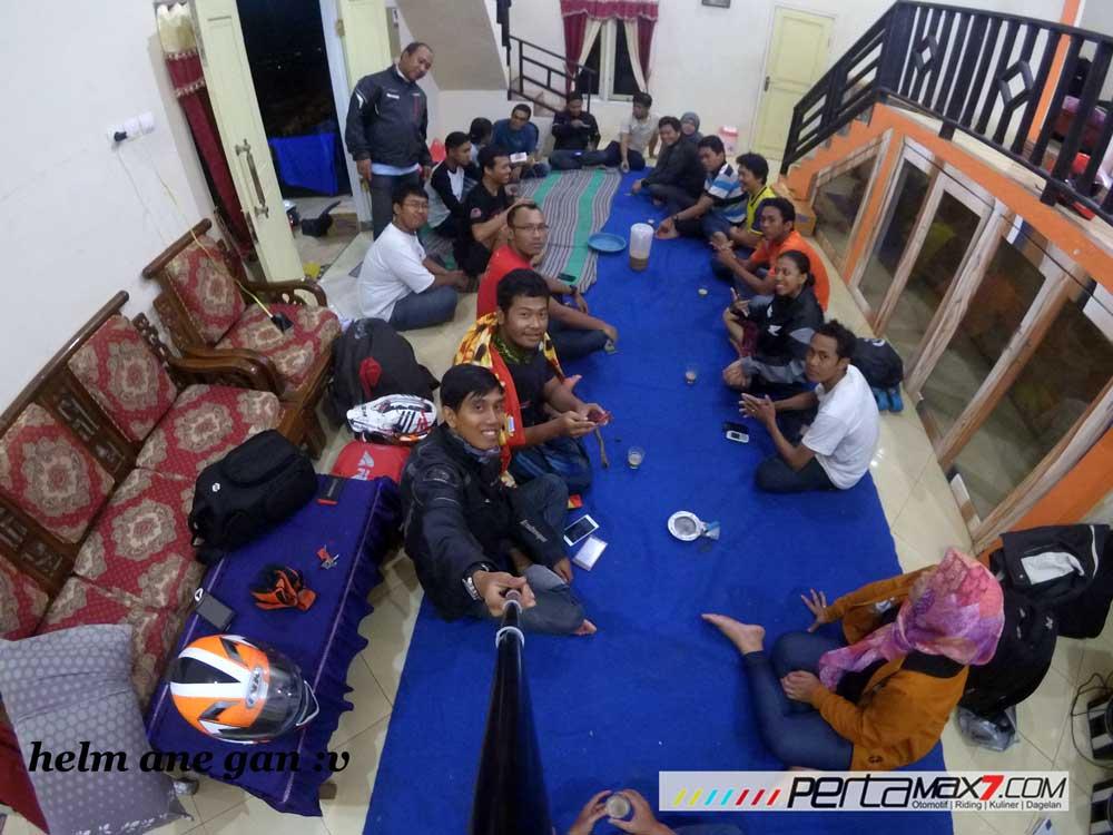 Meriahnya Acara Ulang tahun Jatimotoblog di Wisata Air Panas Pacet Mojokerto, Asem di Kadalin 04 Pertamax7.com