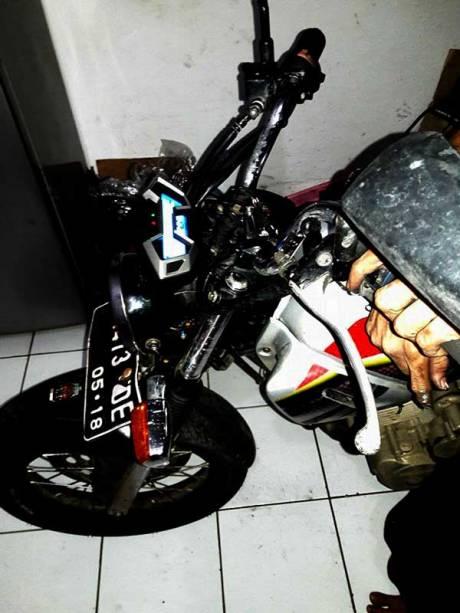 Modifikasi Honda Tiger Pakai Speedometer All New CB150R ini sedap bisa buat Sport Honda juga nih 02 Pertamax7.com