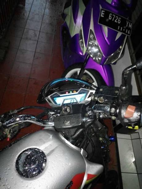 Modifikasi Honda Tiger Pakai Speedometer All New CB150R ini sedap bisa buat Sport Honda juga nih 04 Pertamax7.com