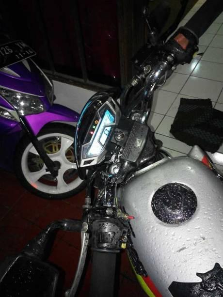 Modifikasi Honda Tiger Pakai Speedometer All New CB150R ini sedap bisa buat Sport Honda juga nih 06 Pertamax7.com