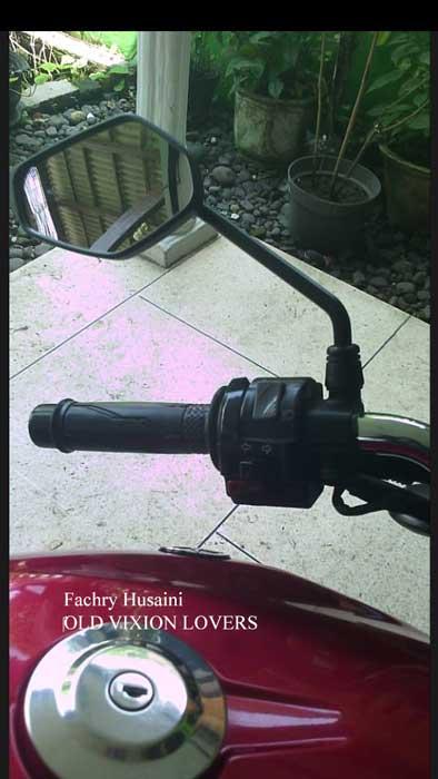 Modifikasi Simple Yamaha Old Vixion Modal Rp.78 Rebu Pakai Handgrip Dan Spion New Vixion, Cakep Dan Fungsional 01 Pertamax7.com