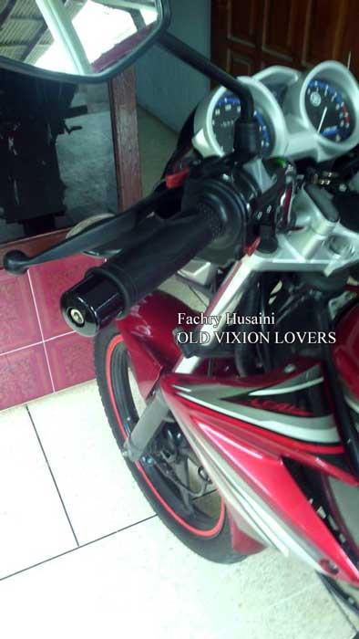 Modifikasi Simple Yamaha Old Vixion Modal Rp.78 Rebu Pakai Handgrip Dan Spion New Vixion, Cakep Dan Fungsional 04 Pertamax7.com
