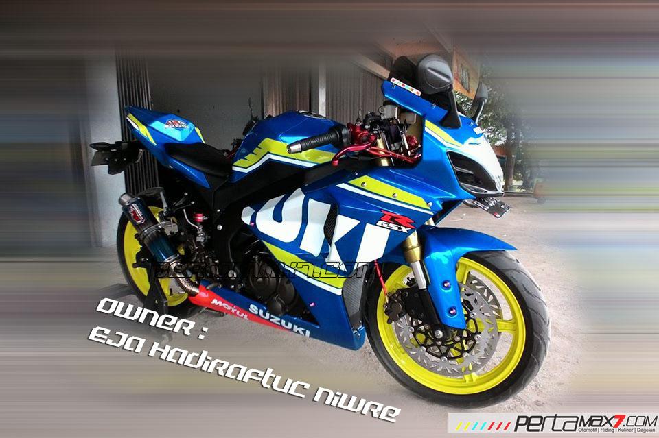 Modifikasi Suzuki Satria F 2008 jadi Full Fairing Bak GSX-R1000 Asal Aceh ini Keren Dan Rapi 01 Pertamax7.com