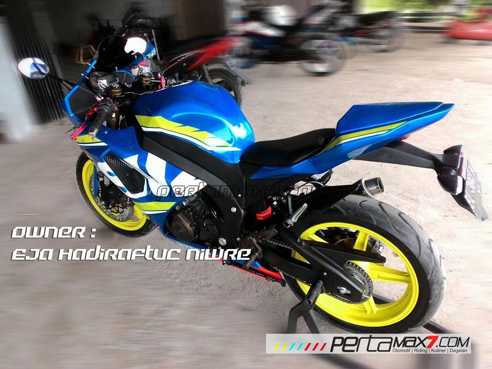 Modifikasi Suzuki Satria F 2008 jadi Full Fairing Bak GSX-R1000 Asal Aceh ini Keren Dan Rapi 02 Pertamax7.com