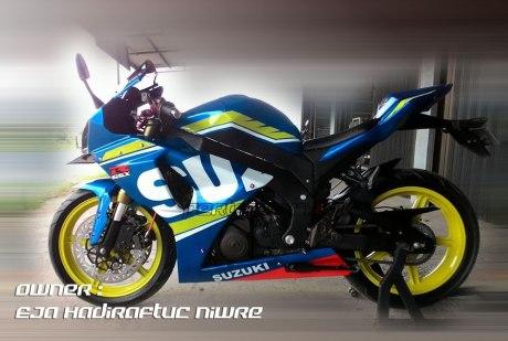Modifikasi Suzuki Satria F 2008 jadi Full Fairing Bak GSX-R1000 Asal Aceh ini Keren Dan Rapi 03 Pertamax7.com