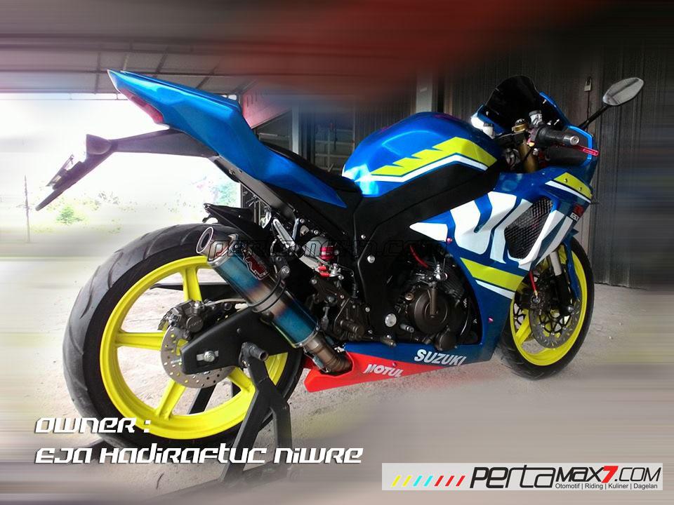 Modifikasi Suzuki Satria F 2008 jadi Full Fairing Bak GSX-R1000 Asal Aceh ini Keren Dan Rapi 05 Pertamax7.com