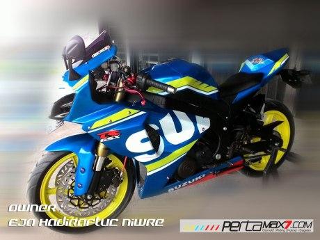 Modifikasi Suzuki Satria F 2008 jadi Full Fairing Bak GSX-R1000 Asal Aceh ini Keren Dan Rapi 10 Pertamax7.com
