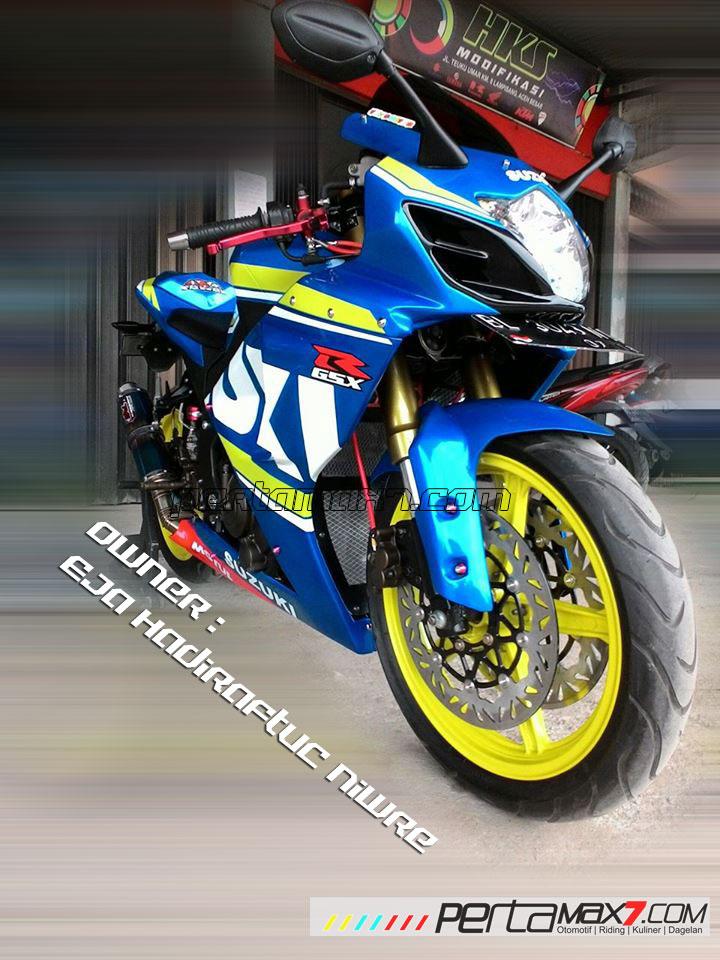 Modifikasi Suzuki Satria F 2008 jadi Full Fairing Bak GSX-R1000 Asal Aceh ini Keren Dan Rapi 11 Pertamax7.com