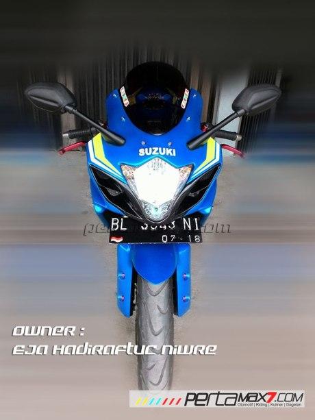 Modifikasi Suzuki Satria F 2008 jadi Full Fairing Bak GSX-R1000 Asal Aceh ini Keren Dan Rapi 12 Pertamax7.com
