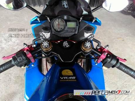 Modifikasi Suzuki Satria F 2008 jadi Full Fairing Bak GSX-R1000 Asal Aceh ini Keren Dan Rapi 13 Pertamax7.com