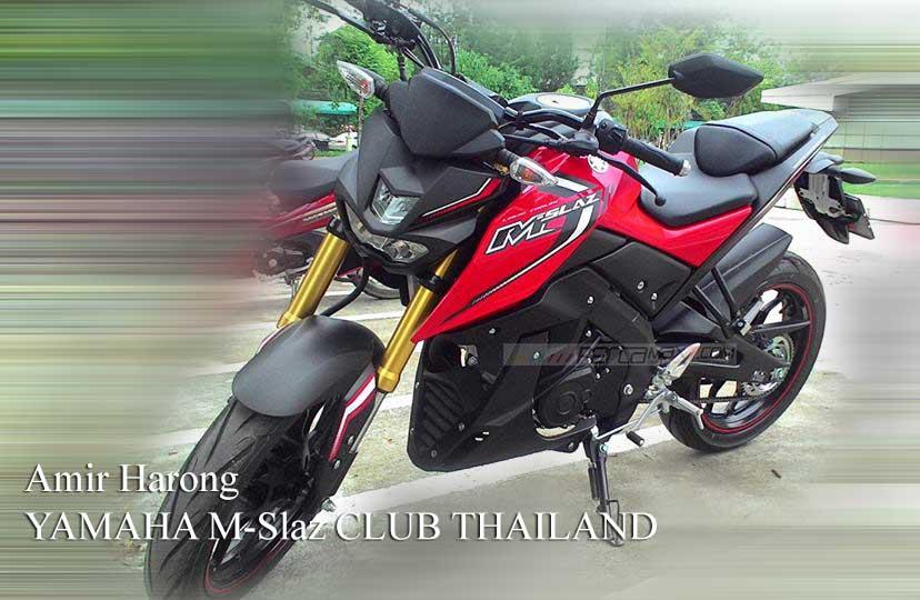 Modifikasi Yamaha M-slaz Pakai Putup Konde Asli Pabrikan02 Pertamax7.com