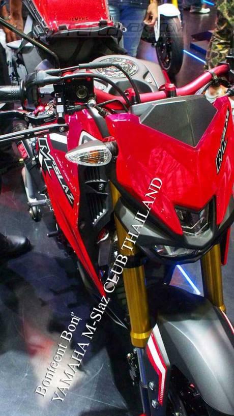 Modifikasi Yamaha M-slaz Pakai Putup Konde Asli Pabrikan04 Pertamax7.com