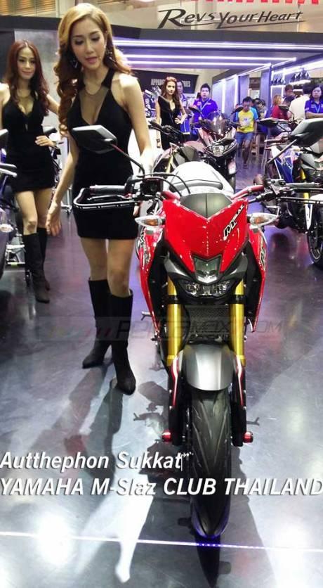 Modifikasi Yamaha M-slaz Pakai Putup Konde Asli Pabrikan05 Pertamax7.com
