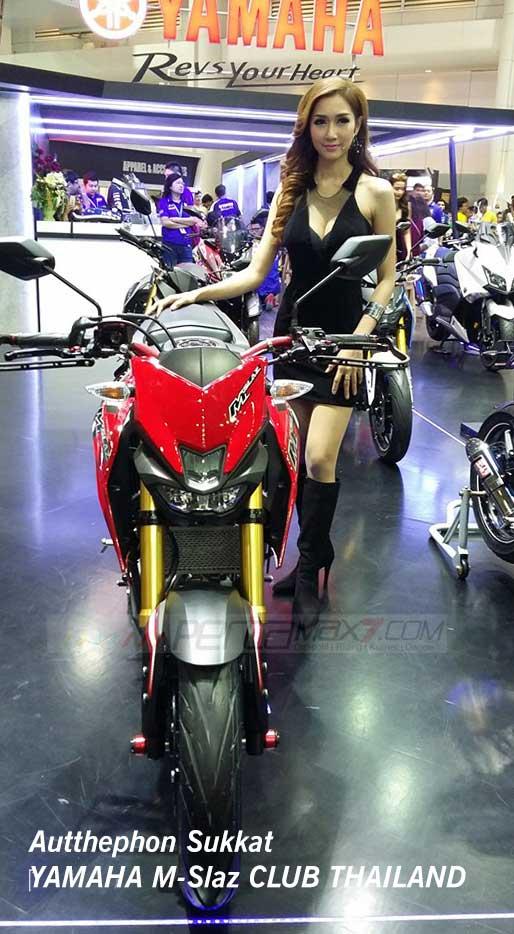 Modifikasi Yamaha M-slaz Pakai Putup Konde Asli Pabrikan06 Pertamax7.com
