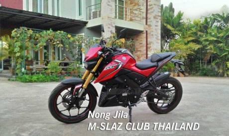 Modifikasi Yamaha M-slaz Pakai Putup Konde Asli Pabrikan07 Pertamax7.com
