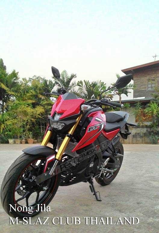 Modifikasi Yamaha M-slaz Pakai Putup Konde Asli Pabrikan09 Pertamax7.com