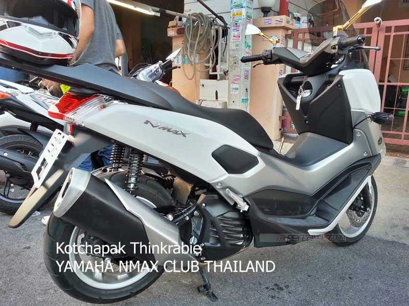 Modifikasi Yamaha NMAX 155 pakai knalpot Ninja 250 FI Makin Keren 04 Pertamax7.com